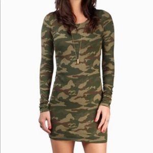 NWOT Billabong Camo Mini Dress M